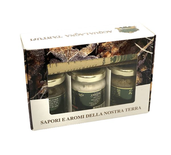 Gift box with 3 sauces