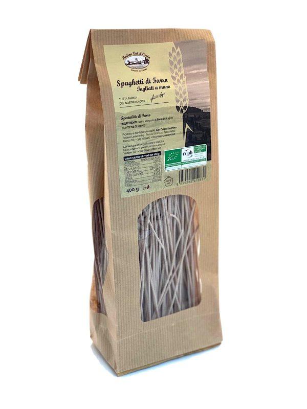 Spelt Spaghetti Mulino Val D'Orcia 400 gr