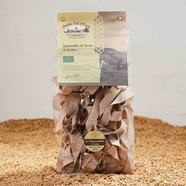 Spelt Pappardelle Mulino Val D'Orcia 500 gr