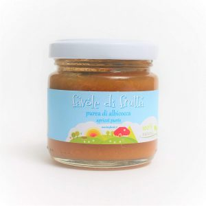 Apricot puree Biofavole 100 gr