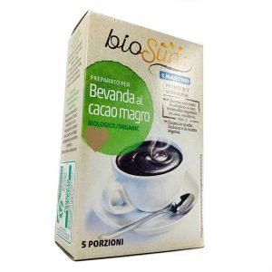 Organic low-fat cocoa drink BioSun bags of 125 gr