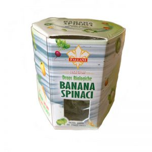 Organic Banana and Spinach Flavored Candies Fallani 50 gr