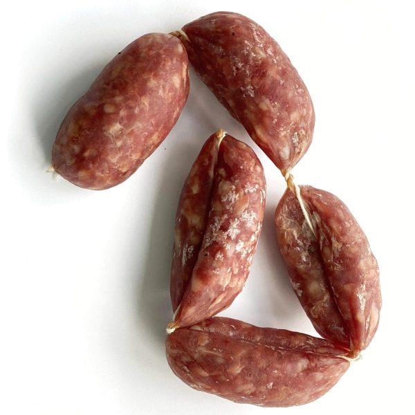 Snack prosciutto sausages